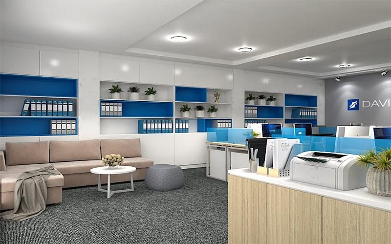 Nguyên tắc thiết kế nội thất văn phòng nhỏ đầy đủ công năng